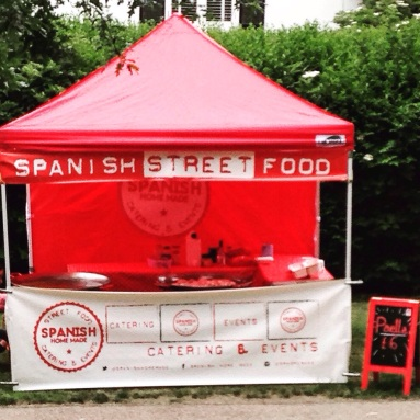 gazebo image spanish home made paella tapas